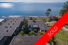 14492 SUNSET DRIVE, White Rock, BC, V4B 2V8 - Location is excellent *Panoramic view from every level* Lot size 6495 sq.ft. Zoning RS-1 Sunset Drive Frontage 52.65 depth 147 ft. Marine Drive frontage 50 feet*. Unobstructed ocean view, pier, mountains & isl
