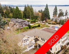 White Rock House for sale: 4 bedroom 5,636 sq.ft. 14008 Marine Drive, White Rock, BC